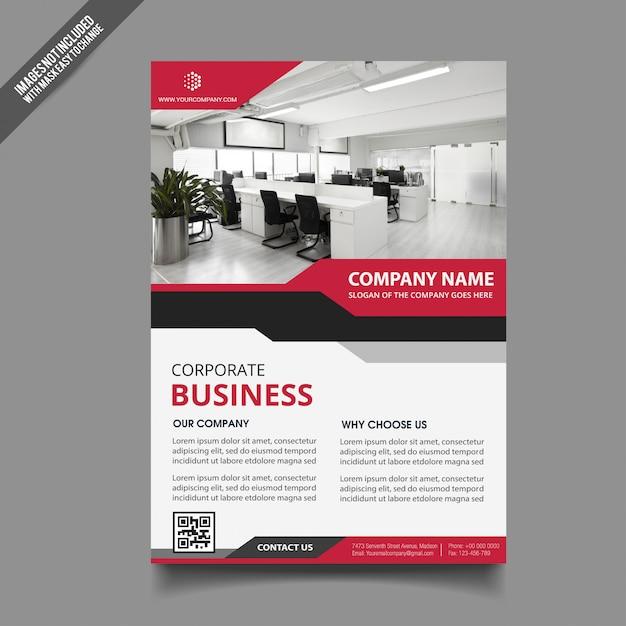 Business flyer template Vector | Premium Download