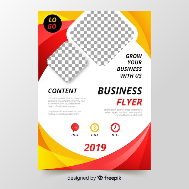 Business flyer Vector | Free Download