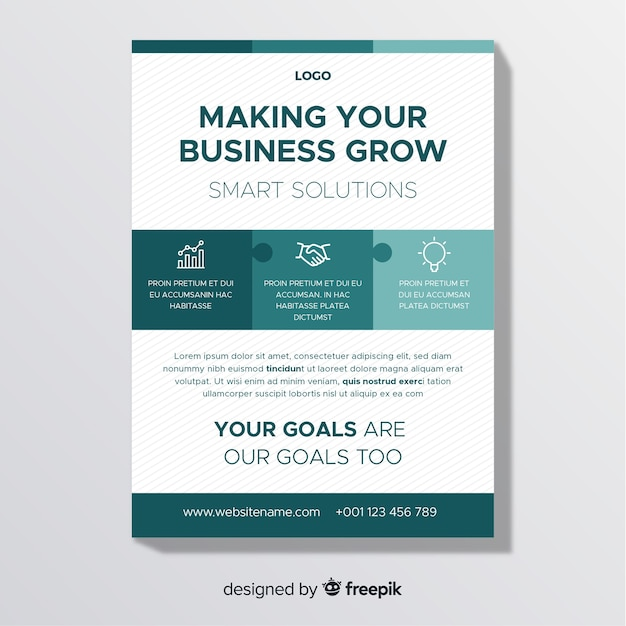 Business Flyer Vector Free Download