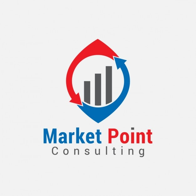 Business graph logo vector free download for Consulting company logo