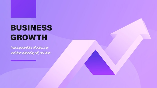 Business growth. Premium Vector