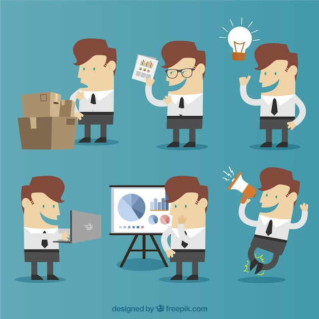 Business idea development Free Vector