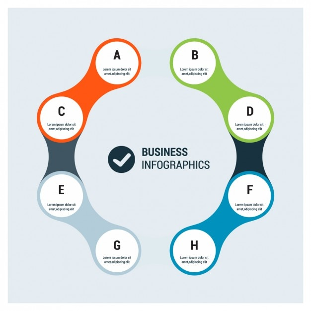 Business Infographics Templates Vector   Free Download