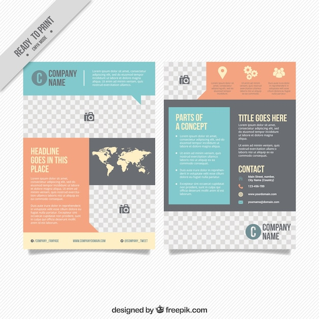 business leaflets templates for free