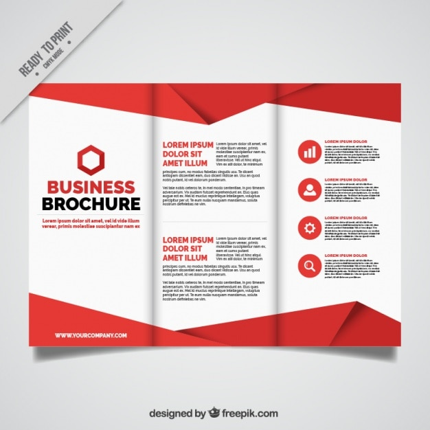 Page Brochure Template Free Toretrackboxco - 4 page brochure template