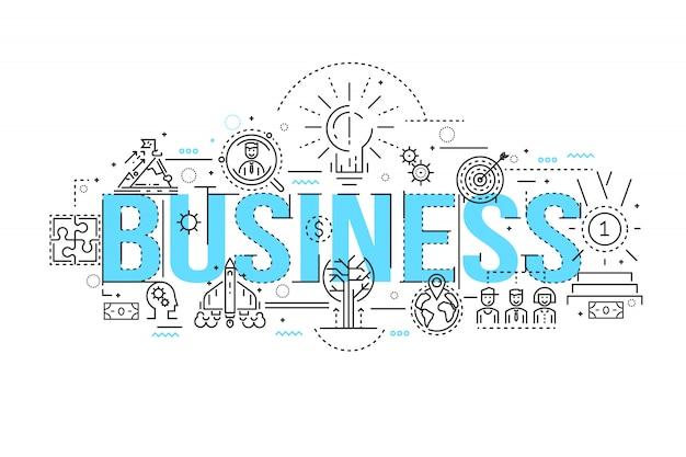 ビジネス線形設計 無料ベクター
