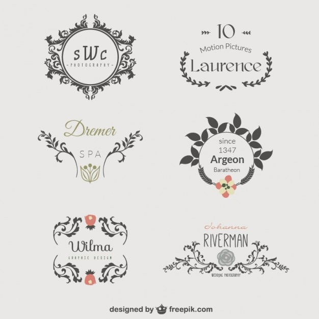 Business logo template vector free download for Design a company logo free templates