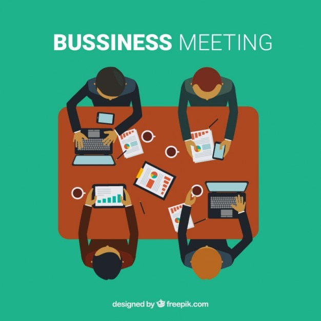 Business meeting background
