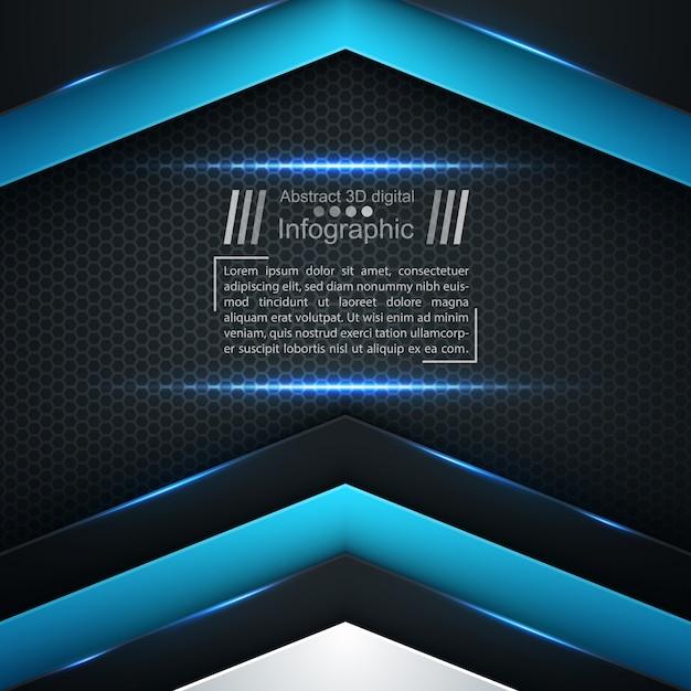 Business paper template Premium Vector