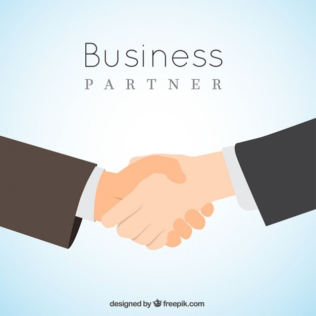 Business partner Free Vector