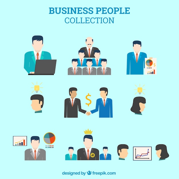 Business people collection