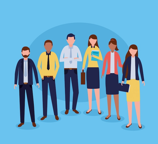 Business people group Free Vector