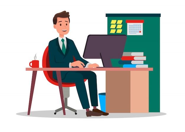 Business person Premium Vector