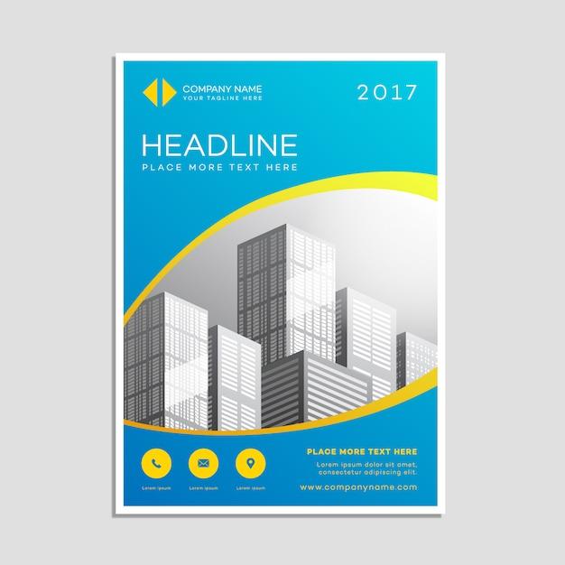 Poster modello di business Vettore gratuito