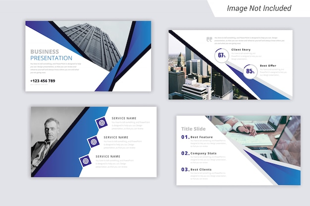 Business Presentation Template Ppt With Unique Style