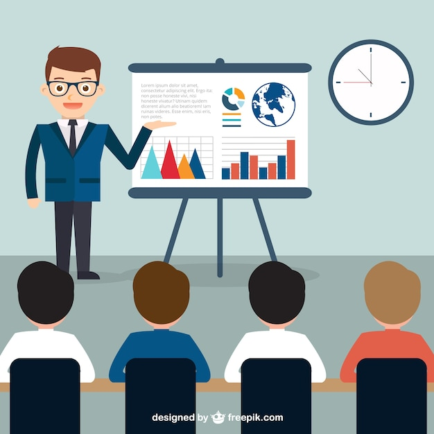 Business Presentation Vector  Free Download