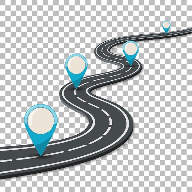 Business and progress concept Premium Vector