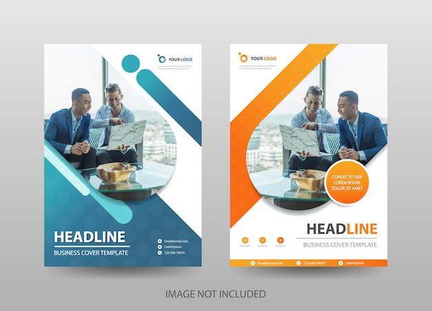 Business proposal flyer template Premium Vector