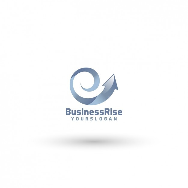 Business Rise Logo Template