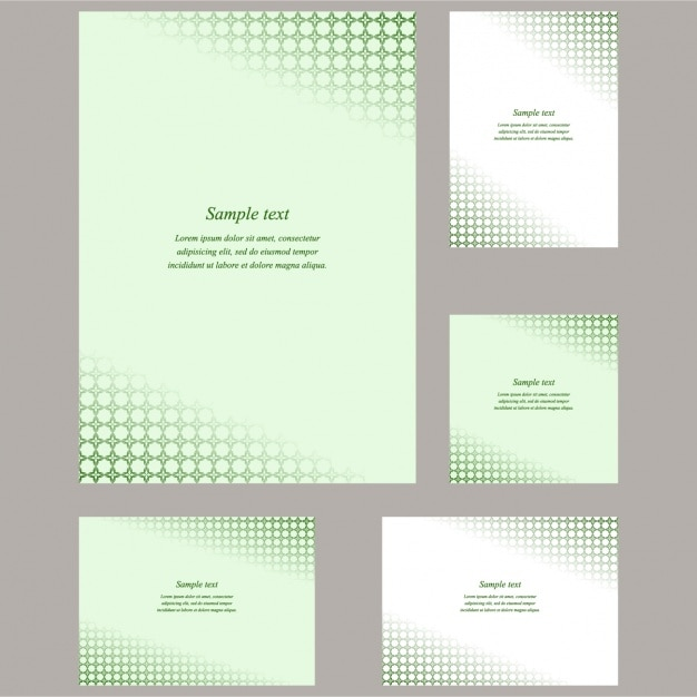 Business stationery design vector free download business stationery design free vector wajeb Image collections