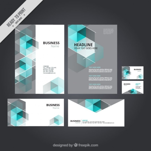 Corporate Stationery: Compilation: 22 Free Corporate Brand Identity Packages