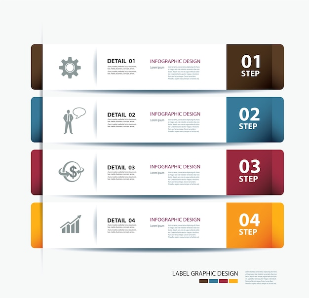 Business step paper data and numbers template vector premium download business step paper data and numbers template premium vector accmission Images