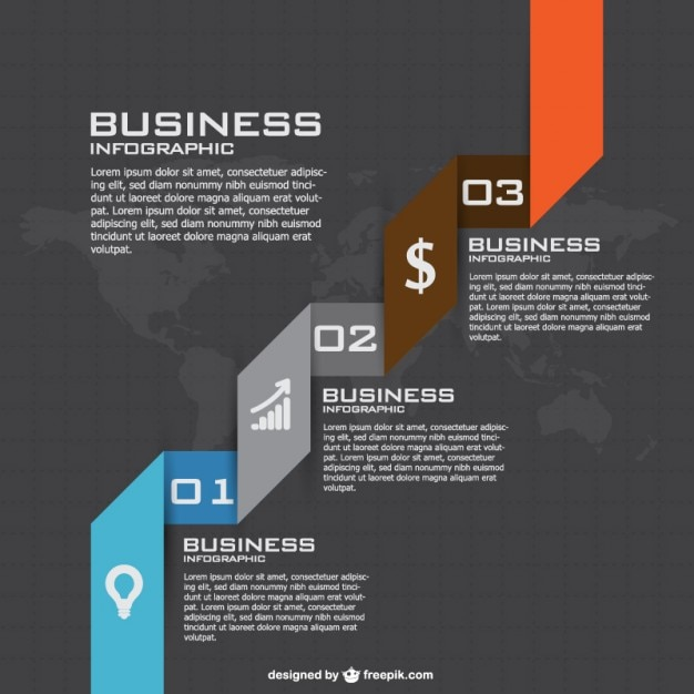 Business Strategy Infographics Vector | Free Download
