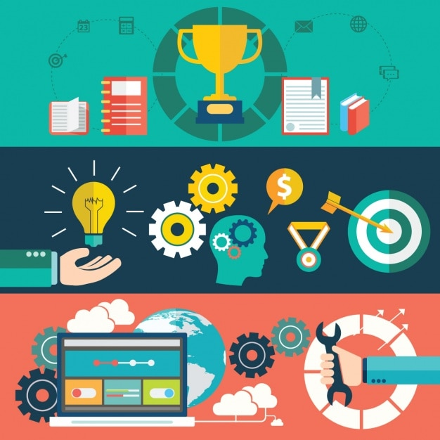 Business success Free Vector