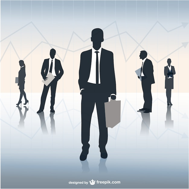 Business Team Illustration Vector Free Download