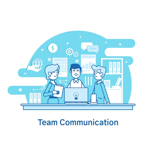 communication in teamwork Communication and teamwork communication is a contact sport, and it is always good to listen and talk with your contacts — rich bagin.