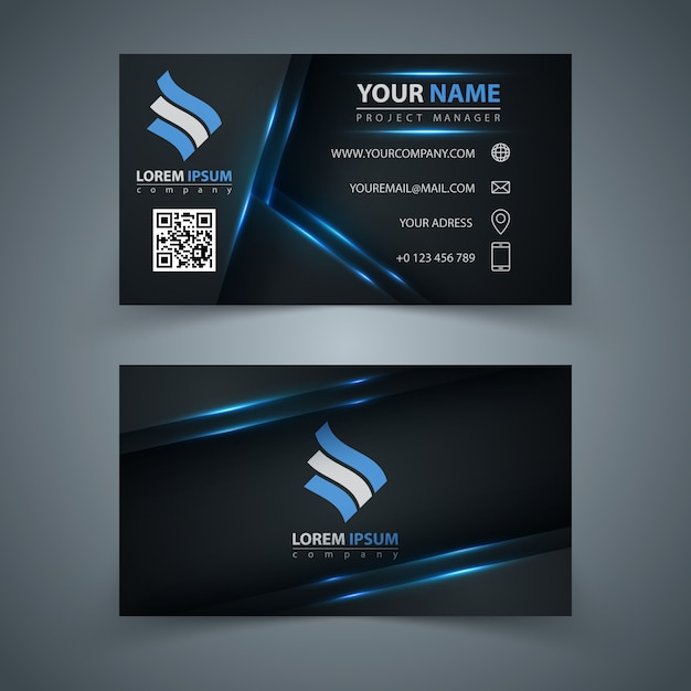 Business template Premium Vector