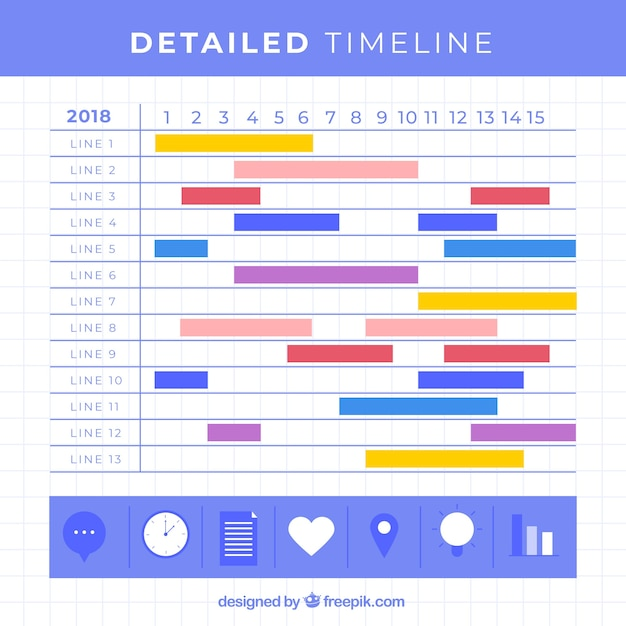 Business timeline template with infographic style vector free download business timeline template with infographic style free vector cheaphphosting Images