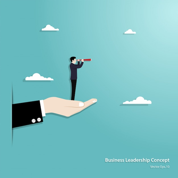 Business vision and target Premium Vector