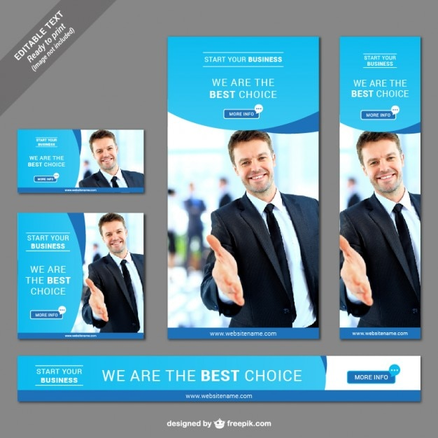 Banner Ads Vectors, Photos and PSD files | Free Download