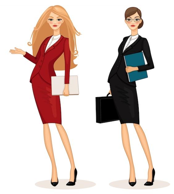 Бизнес-леди Бесплатные векторы