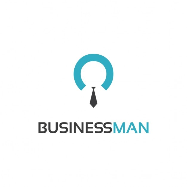 Businessman Logo Template