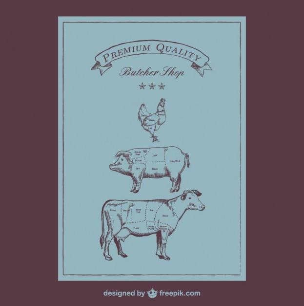 butcher cuts diagram_23 2147495146 butcher cuts diagram vector free download