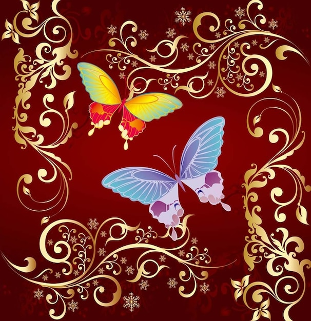 Butterfly Vector Graphics Free Vector
