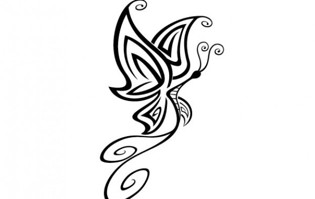 Butterfly Vector Vector : Free Download
