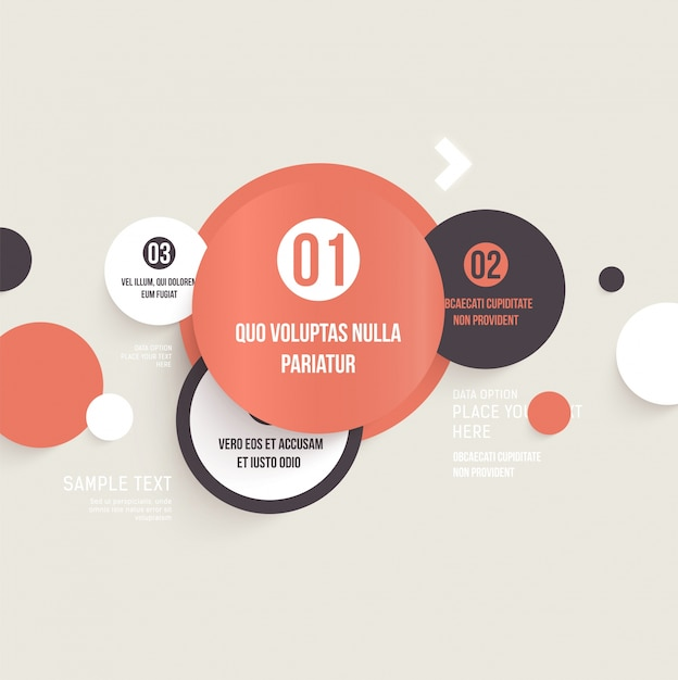 button element layout banner wallpaper Premium Vector