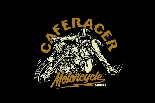 Caferacer Premiumベクター