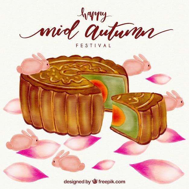 Cake, mid autumn festival