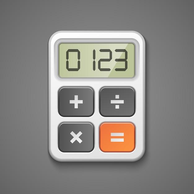 Значок калькулятора Бесплатные векторы