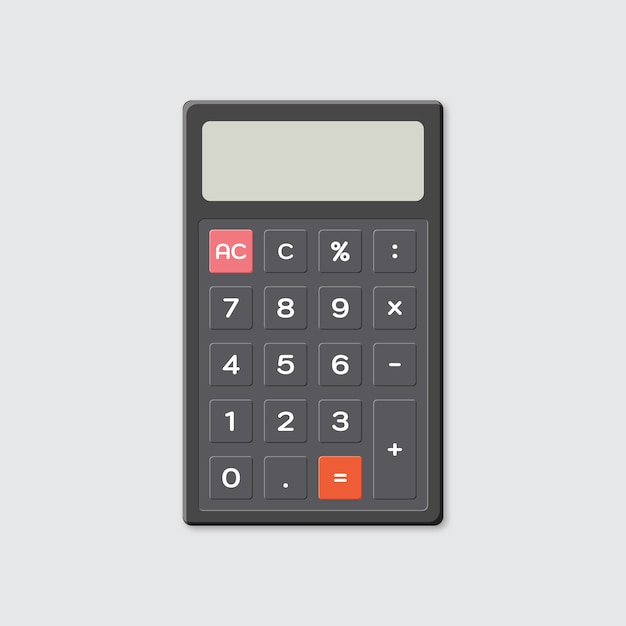 Calculator Premium Vector