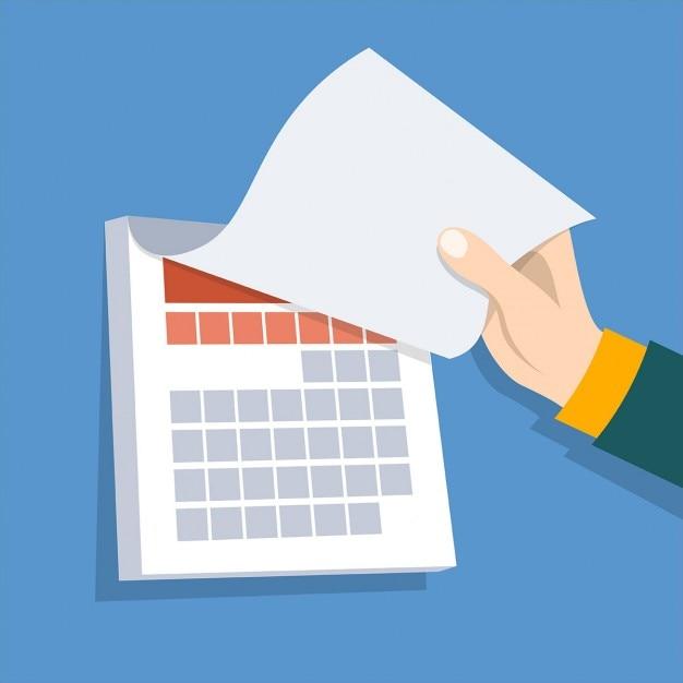 Calendar Pages Vector : Calendar vector free download