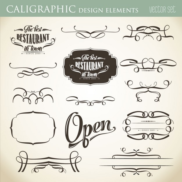 Calligraphy Designs Templates