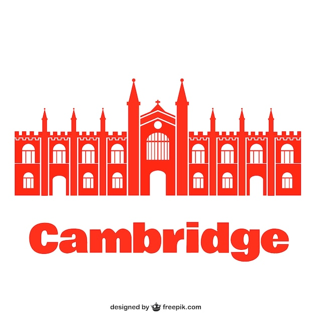 Cambridge university Free Vector