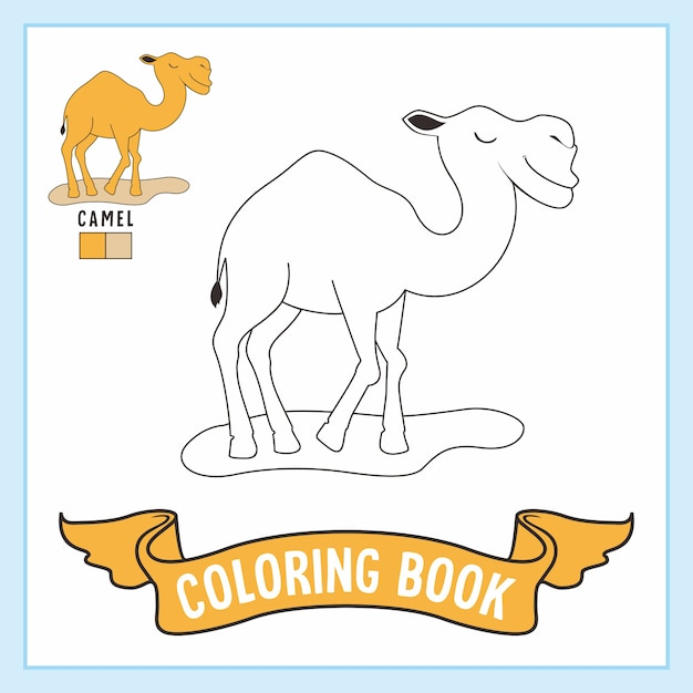 Free Camel Coloring Page, Download Free Clip Art, Free Clip Art on ... | 626x626