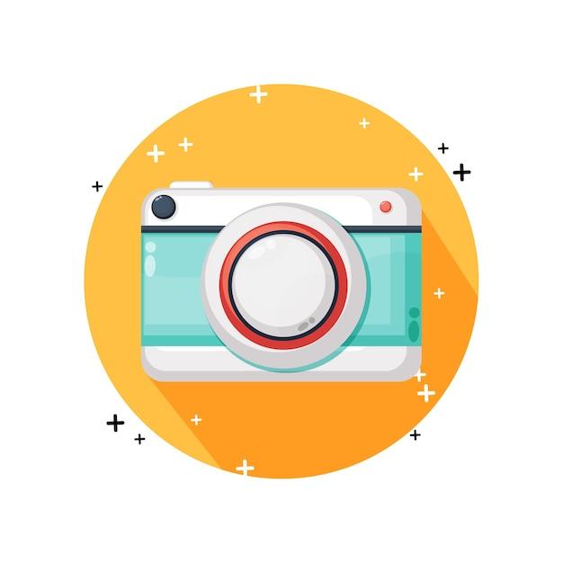 カメラアイコンのデザイン Premiumベクター