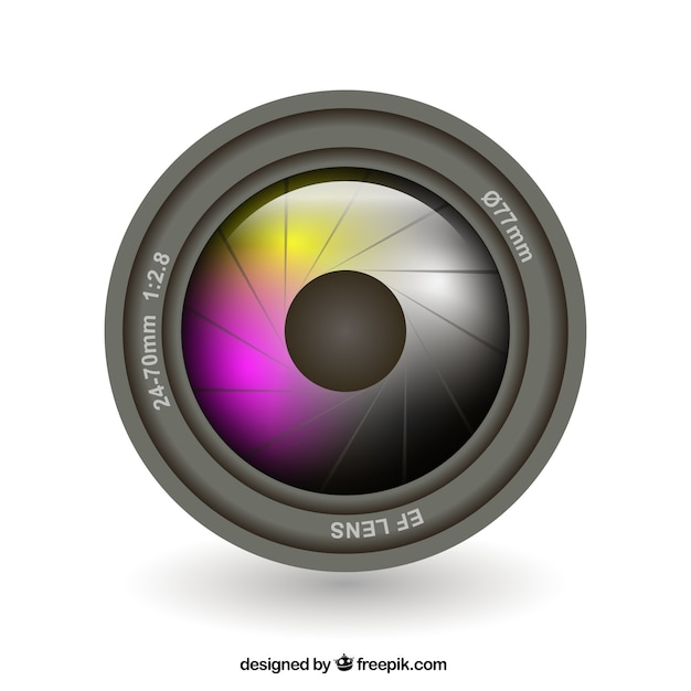 camera lens vector free download rh freepik com camera lens vector black and white camera lens vector file